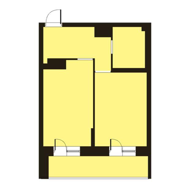 Планировка 1 комн. квартиры